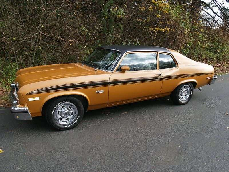 Chevrolet Nova 3rd generation [3rd restyling] coupe 5.0 MT (1973–1974)