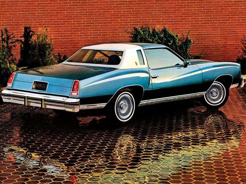 Chevrolet Monte Carlo 2nd generation [3rd restyling] coupe 5.7 Turbo Hydra Matic (1976–1976)