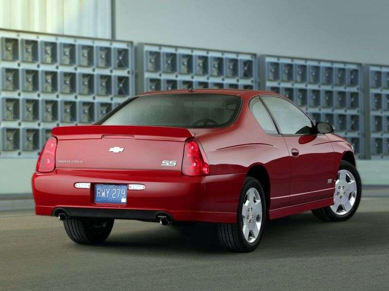 Chevrolet Monte Carlo 6th generation [restyling] coupe 3.5 AT (2006–2007)