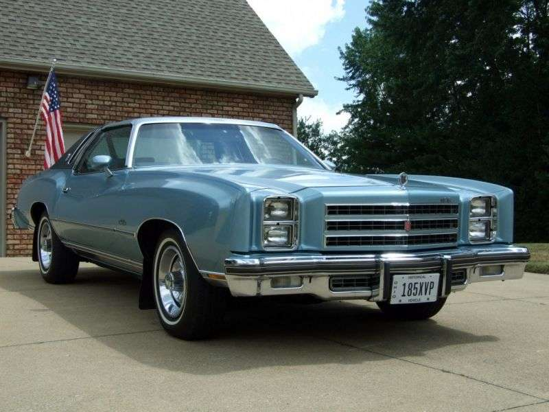 Chevrolet Monte Carlo 2nd generation [3rd restyling] Coupe 5.0 Turbo Hydra Matic (1976–1976)