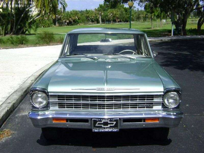 Chevrolet Nova 2nd generation [restyling] 3.2 Powerglide sedan (1967–1967)