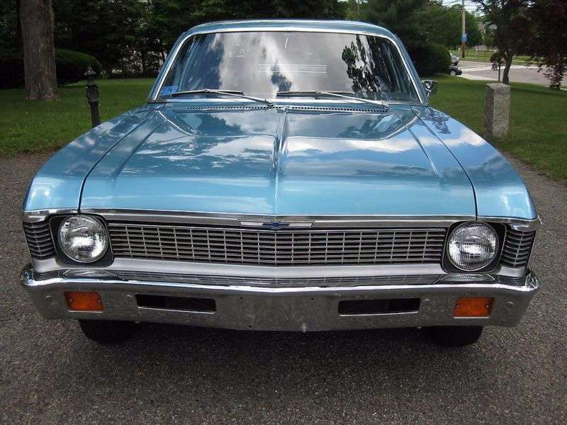 Chevrolet Nova 3rd generation [2nd restyling] sedan 4.1 Powerglide (1970–1972)