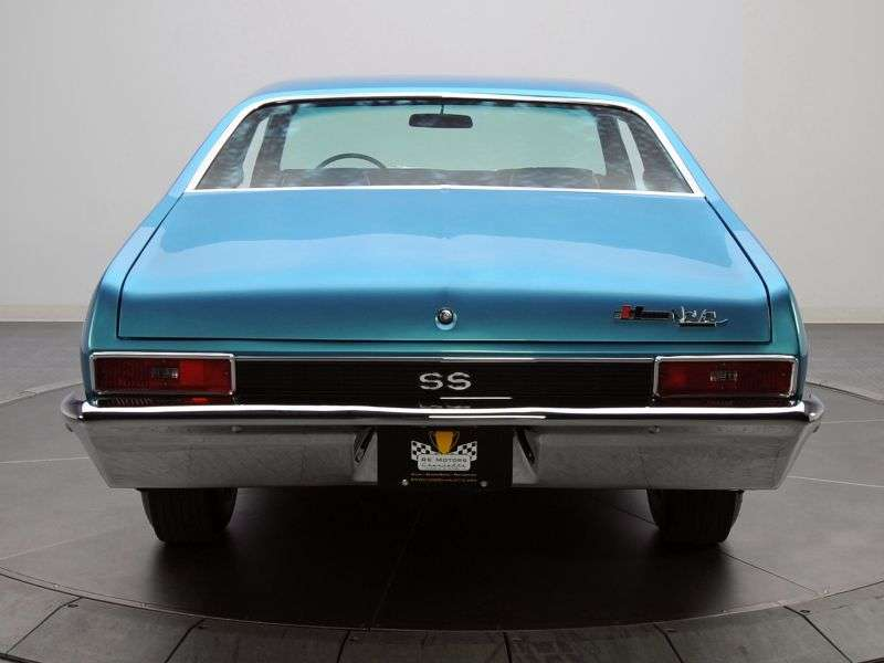 Chevrolet Nova 3rd generation [2nd restyling] coupe 5.7 MT (1970–1972)