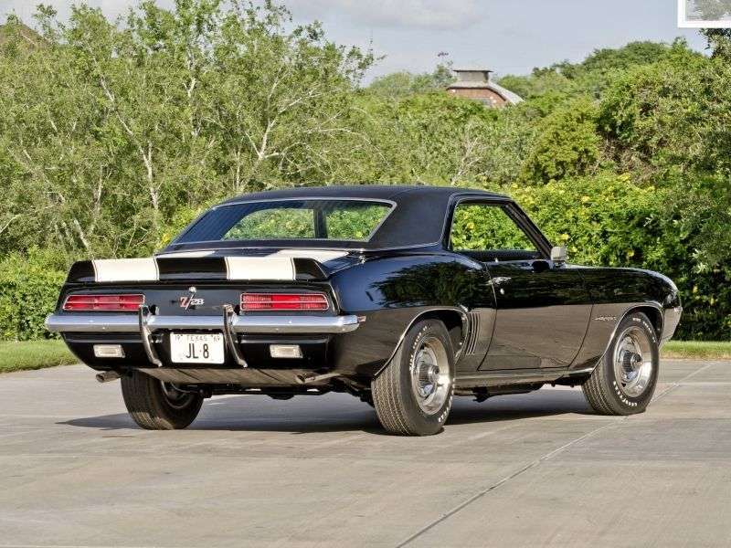 Chevrolet Camaro 1st generation [2nd restyling] Z28 RS coupe 2 dv. 4.9 MT (1969–1969)