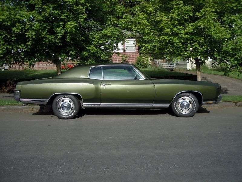 Chevrolet Monte Carlo 1st generation coupe 6.6 Turbo Hydra Matic (1970–1970)