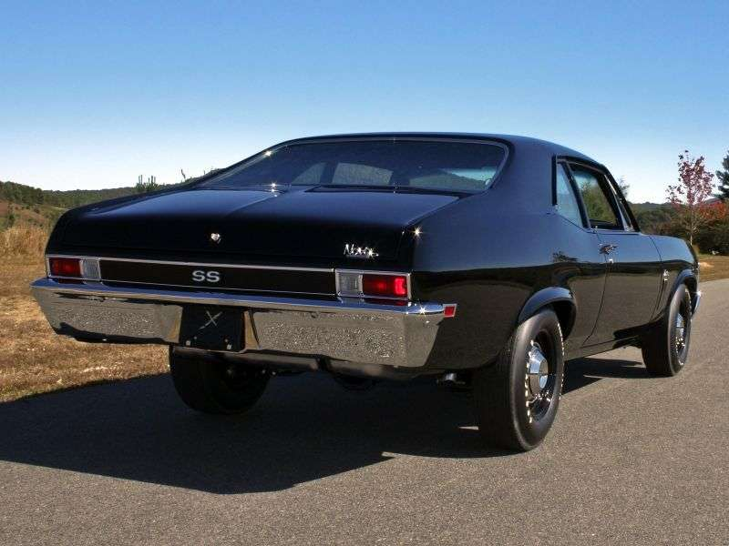 Chevrolet Nova 3 generation [restyling] coupe 4.1 MT (1969–1969)