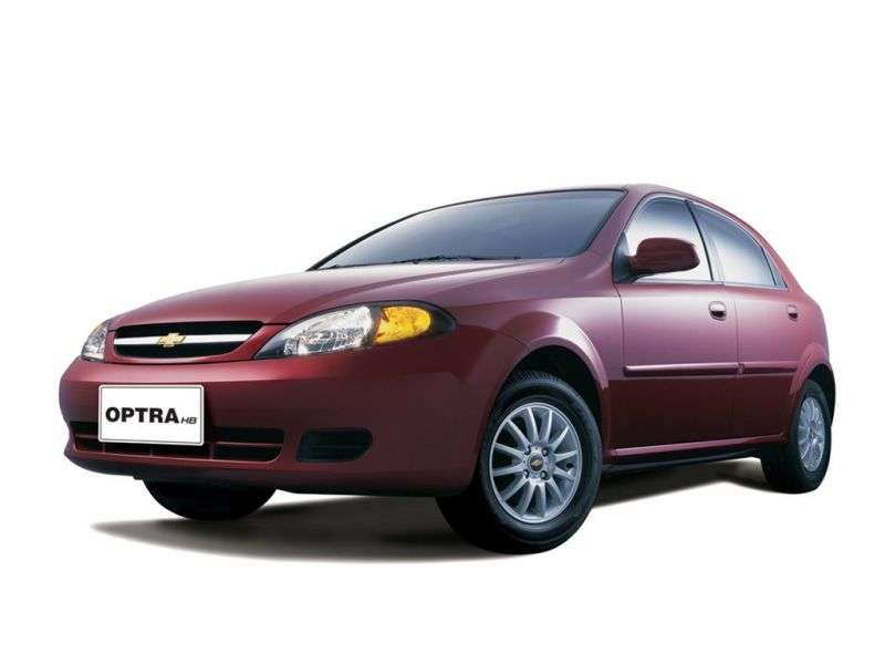 Chevrolet Optra 1st generation [restyling] Hatchback 2.0 AT (2004–2008)