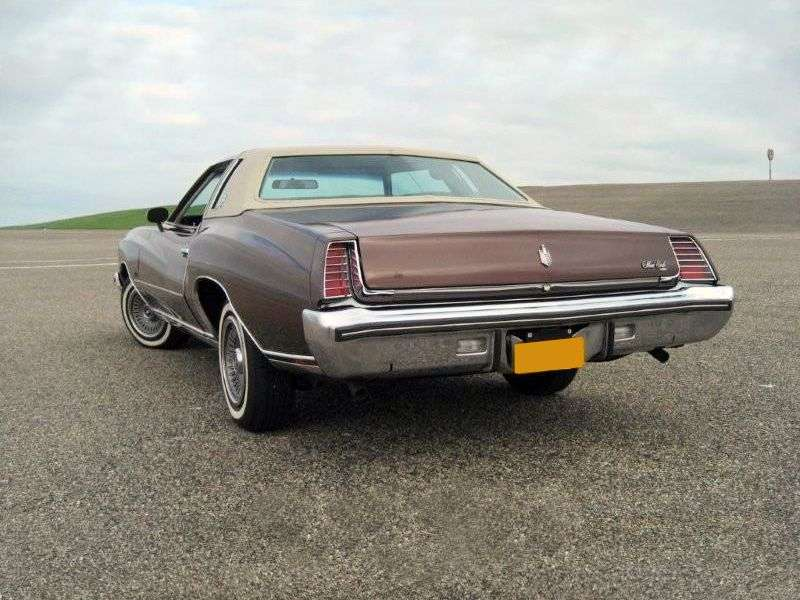 Chevrolet Monte Carlo 2nd generation coupe 7.4 Turbo Hydra Matic (1973–1973)