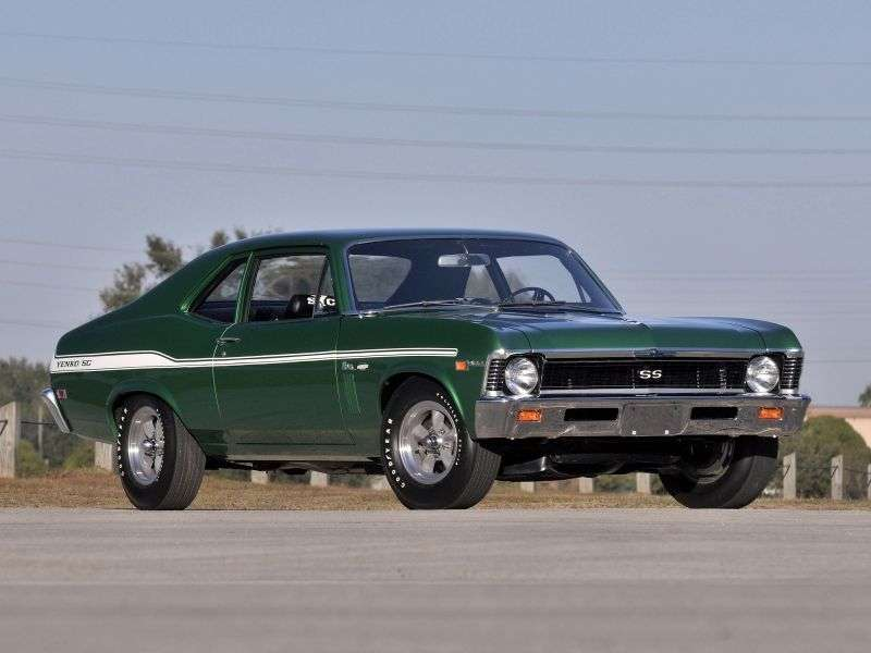 Chevrolet Nova 3rd generation [restyling] coupe 2.5 MT (1969–1969)