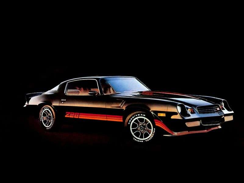 Chevrolet Camaro 2nd generation [2nd restyling] Z28 coupe 2 dv. 5.7 AT (1979–1979)