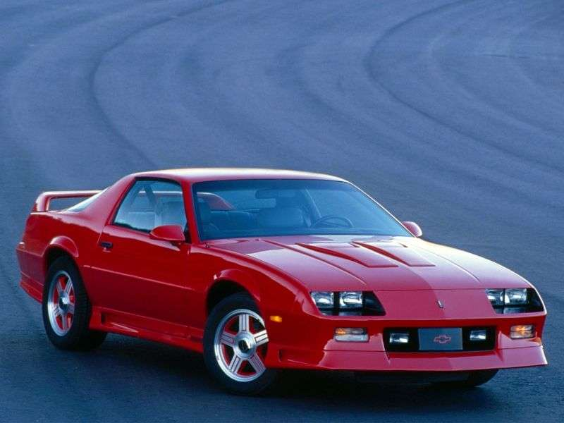 Chevrolet Camaro 3rd generation [2nd restyling] Z28 coupe 2 dv. 5.7 AT (1991–1992)