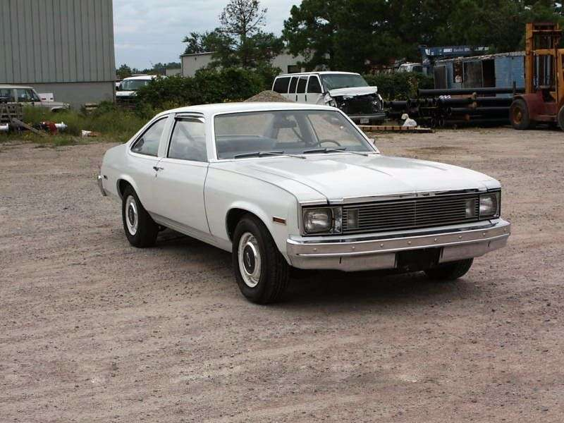 Chevrolet Nova 4th generation [4th restyling] Coupe 5.0 AT (1979–1979)