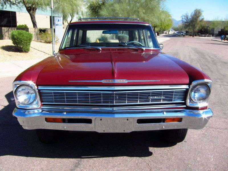 Chevrolet Nova 2nd generation wagon 3.8 Synchromesh (1966–1966)