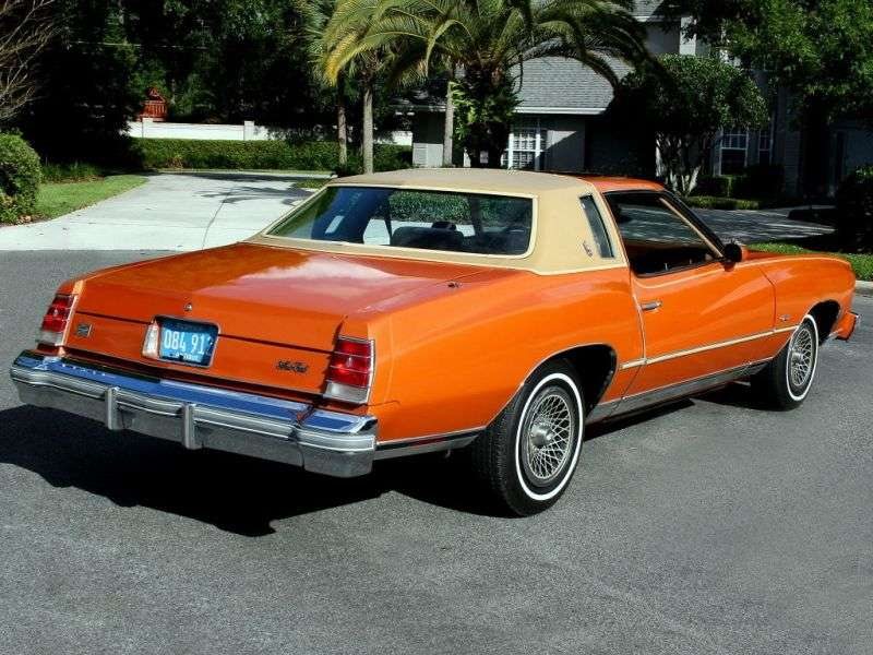Chevrolet Monte Carlo 2nd generation [4th restyling] coupe 5.7 Turbo Hydra Matic (1977–1977)