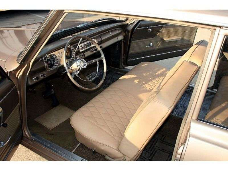 Chevrolet Nova 1st generation coupe 2.5 Powerglide (1962–1962)
