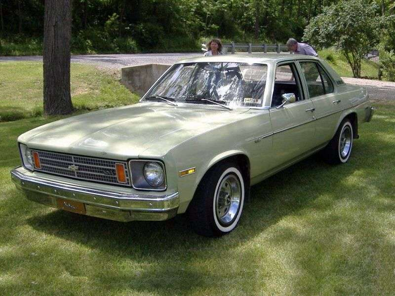Chevrolet Nova 4th generation sedan 4.1 MT (1975–1975)