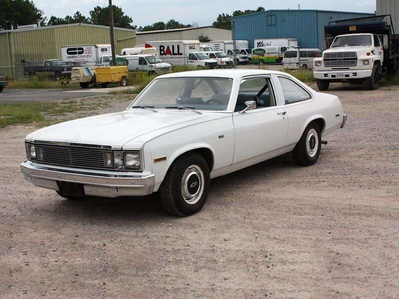 Chevrolet Nova 4th generation [4th restyling] coupe 5.7 AT (1979–1979)