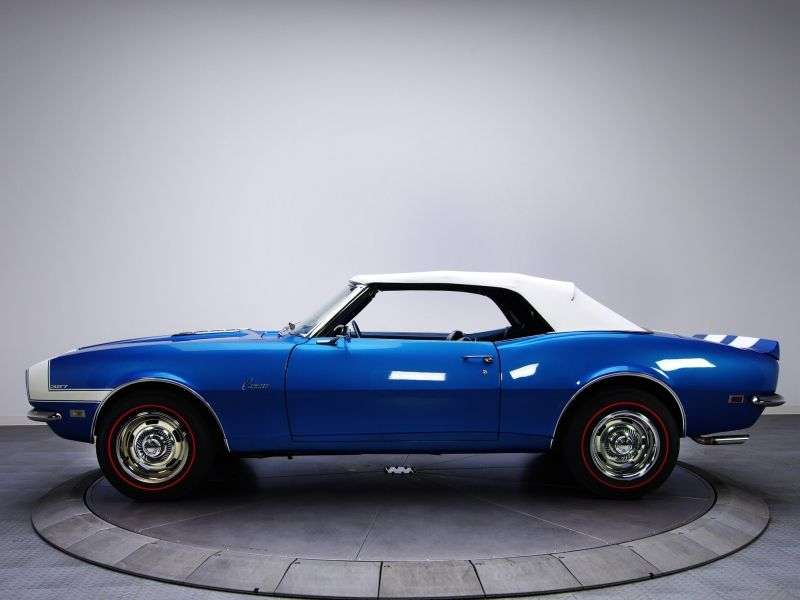 Chevrolet Camaro 1st generation [restyling] 5.7 Powerglide convertible (1968–1968)