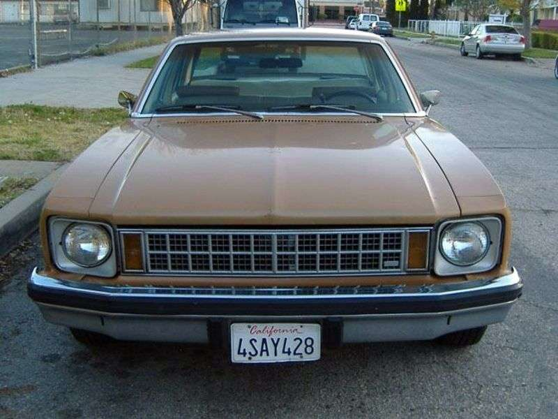 Chevrolet Nova 4th generation [restyling] 4 door sedan 4.1 Turbo Hydra Matic (1976–1976)