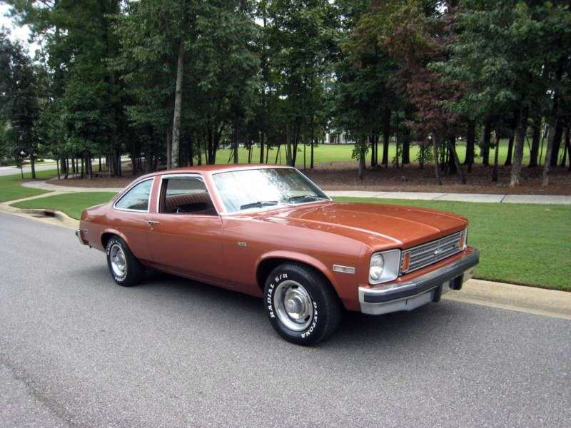 Chevrolet Nova 4th generation liftback 5.7 Turbo Hydra Matic (1975–1975)