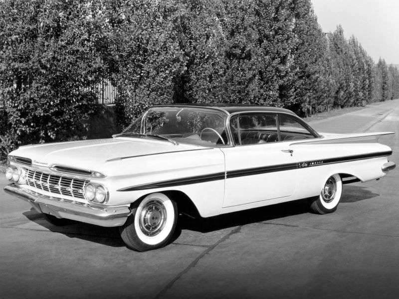 Chevrolet Impala 2nd generation Sport Coupe 4.6 3MT (1959–1959)
