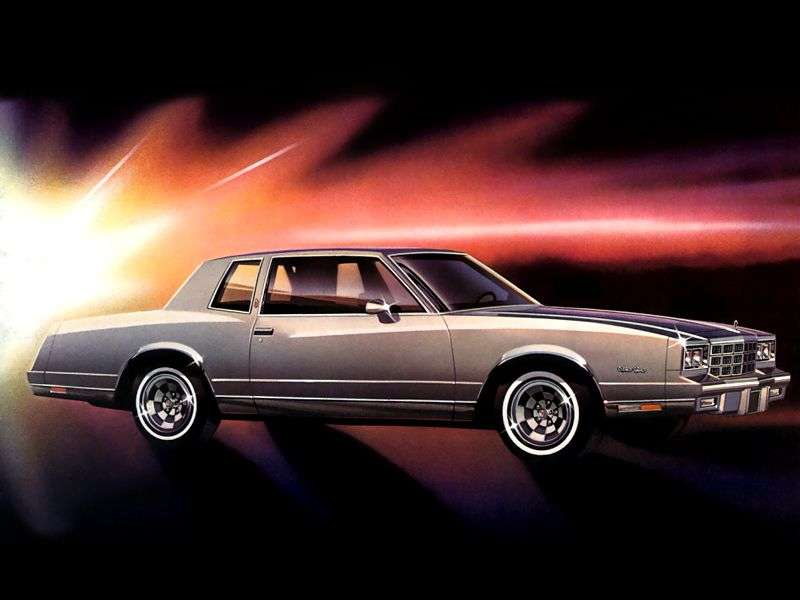 Chevrolet Monte Carlo 4th generation coupe 3.8 AT California (1981–1981)