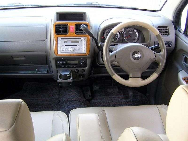Chevrolet MW 1st generation [restyled] minivan 1.3 AT AWD (2003–2010)