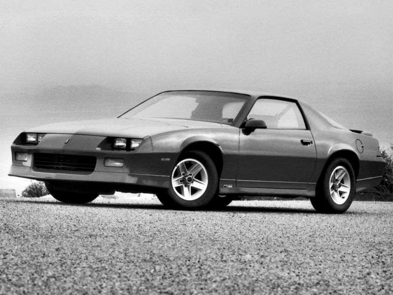 Chevrolet Camaro 3rd generation [restyling] coupe 2 bit. 5.0 AT (1987–1990)