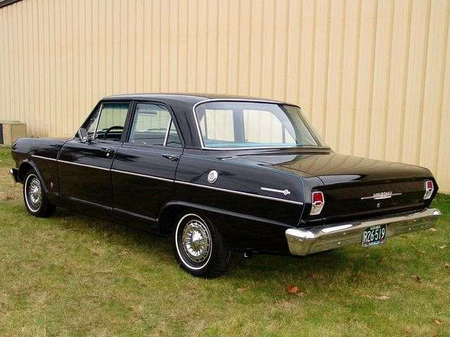 Chevrolet Nova 1st generation sedan 3.2 Synchromesh (1962–1962)