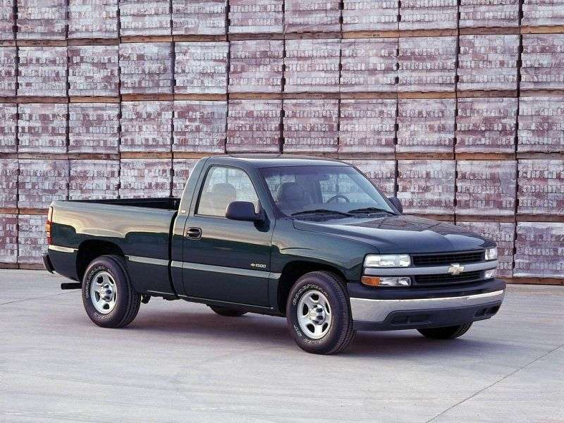 Chevrolet Silverado GMT800Regular Cab pickup 2 dv. 8.1 5MT LWB 2500HD (2001–2002)