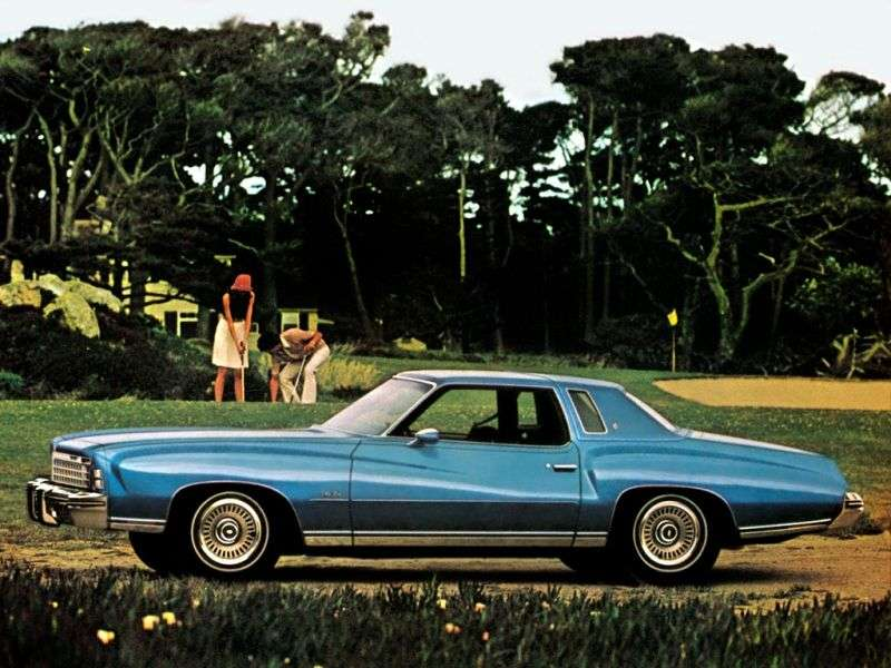 Chevrolet Monte Carlo 2nd generation [restyling] coupe 7.4 Turbo Hydra Matic (1974–1974)