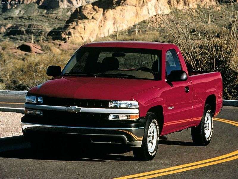 Chevrolet Silverado GMT800Regular Cab pickup 2 dv. 8.1 6MT 4WD LWB 2500HD (2001–2002)