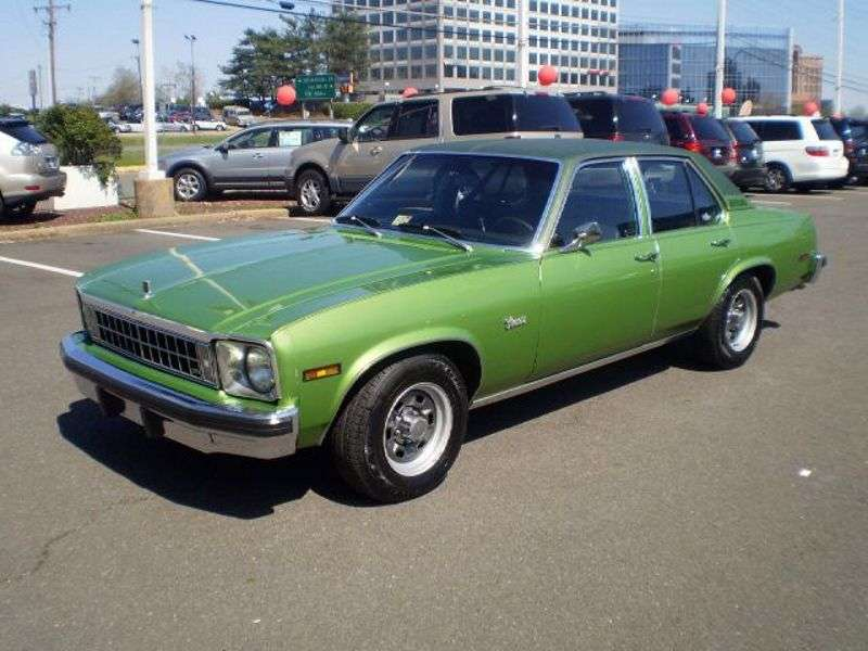 Chevrolet Nova 4th generation [restyling] Concours 4 door sedan 4.1 Turbo Hydra Matic (1976–1976)