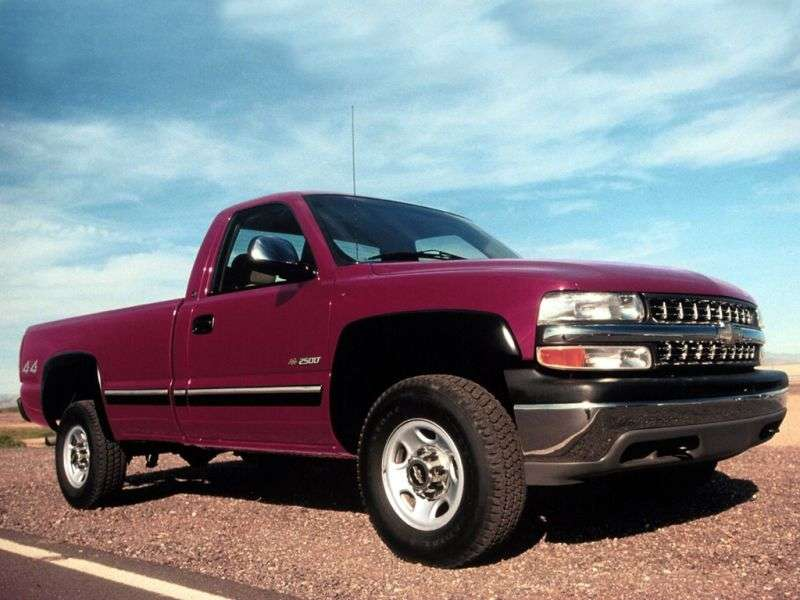 Chevrolet Silverado GMT800Regular Cab pickup 2 dv. 8.1 4AT LWB 3500HD (2001–2002)
