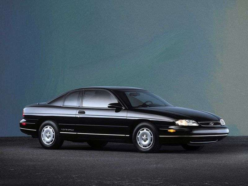 Chevrolet Monte Carlo 5th generation coupe 3.1 Hydra Matic O. D. (1996–1997)