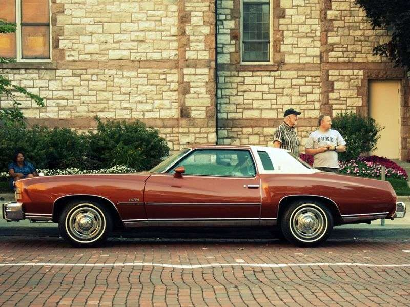 Chevrolet Monte Carlo 2nd generation [restyling] coupe 6.6 Turbo Hydra Matic (1974–1974)