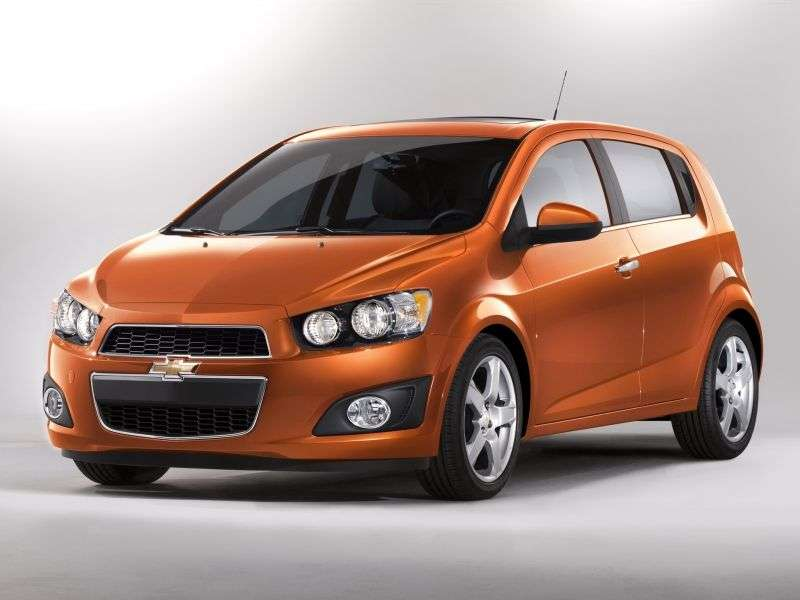 Chevrolet Sonic 1st generation 1.4 MT hatchback (2011 – n.)