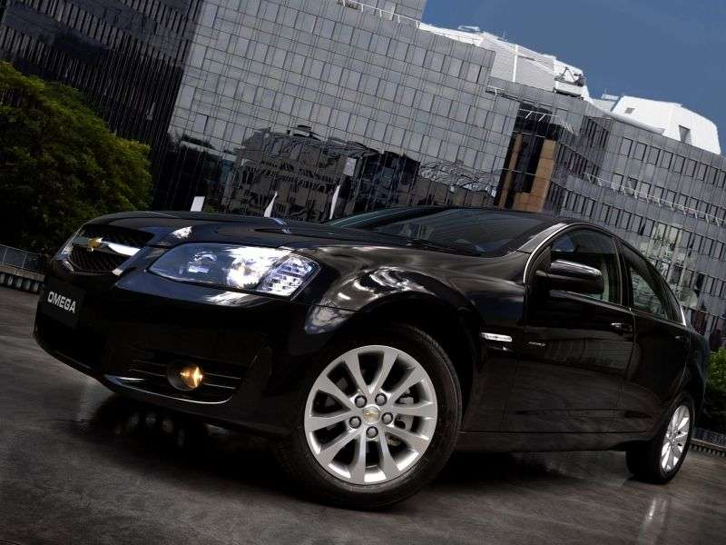 Chevrolet Omega D [restyling] Fittipaldi Sedan 3.6 AT (2011 – v.)