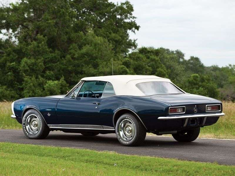 Chevrolet Camaro 1st generation convertible 3.8 4MT (1967–1967)