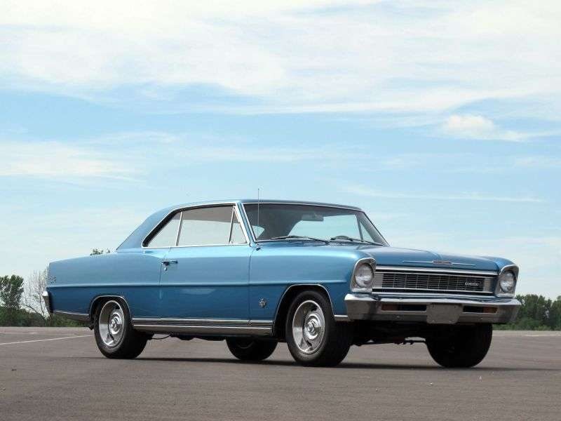 Chevrolet Nova 2nd generation coupe 5.4 Synchromesh (1966–1966)