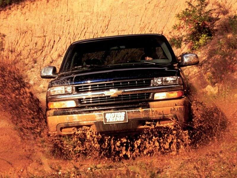 Chevrolet Silverado GMT800Extended Cab pick up 4 bit. 6.0 5MT 2500HD (1999–2002)