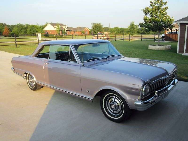 Chevrolet Nova 1st generation [3rd restyling] coupe 3.2 Powerglide (1965–1965)