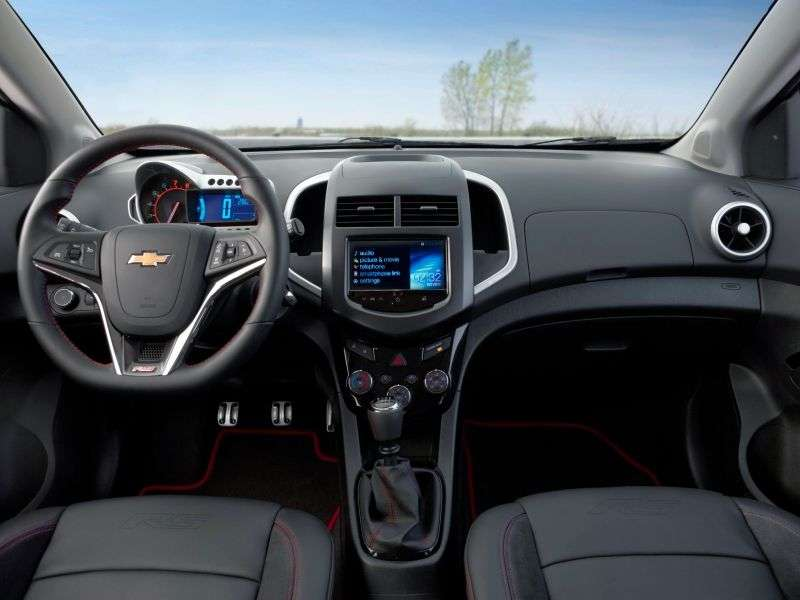 Chevrolet Sonic 1st generation RS hatchback 5 dv. 1.4 MT (2012 – n. In.)