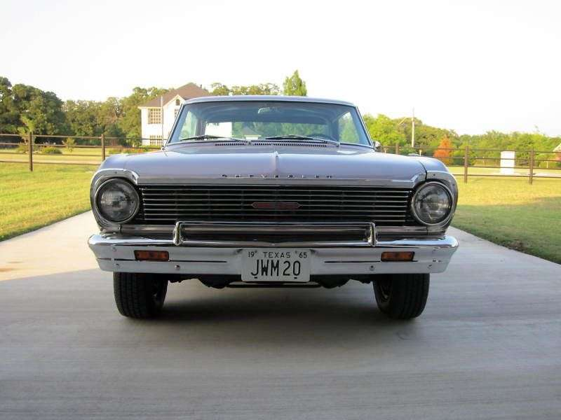 Chevrolet Nova 1st generation [3rd restyling] coupe 4.6 Powerglide (1965–1965)