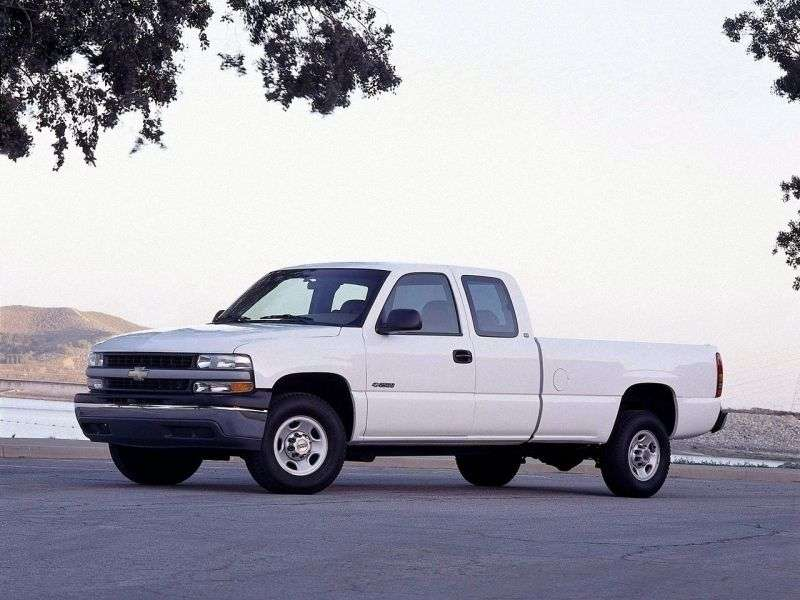 Chevrolet Silverado GMT800Extended Cab pick up 4 bit. 6.0 4AT LWB 2500HD (1999–2002)