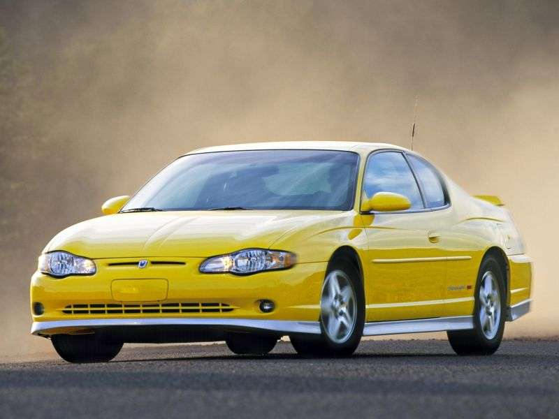 Chevrolet Monte Carlo 6th generation coupe 3.8 AT (2000–2004)