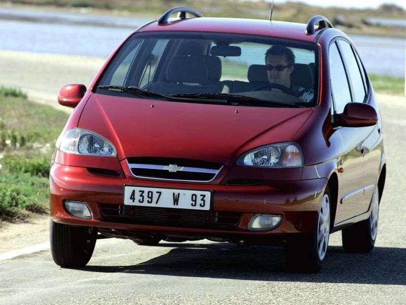 Chevrolet Rezzo 1st generation 1.6 MT minivan (2005–2008)