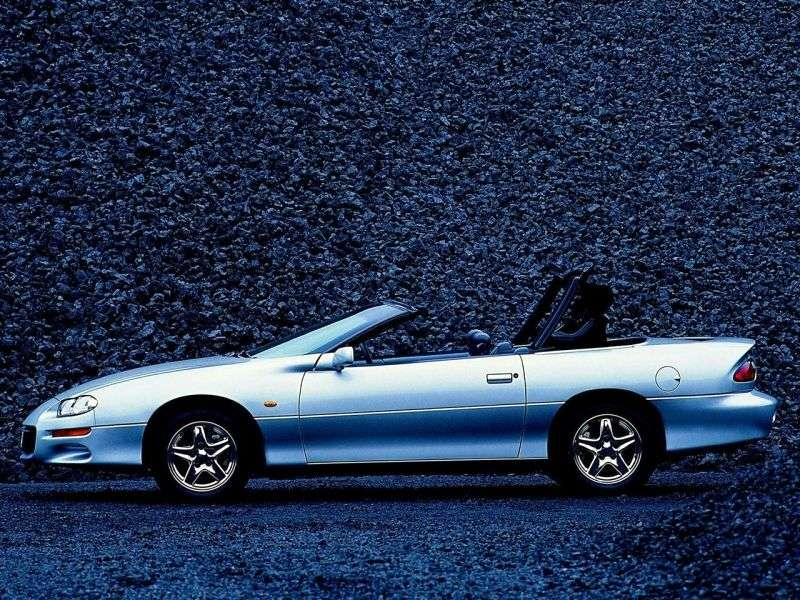Chevrolet Camaro 4th generation [restyling] Z28 convertible 2 dv. 5.7 MT (1998–2000)
