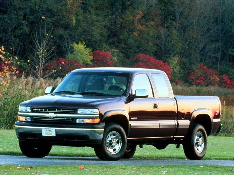 Chevrolet Silverado GMT800Extended Cab pick up 4 bit. 6.6 TD 4AT 4WD LWB 3500HD (1999–2002)