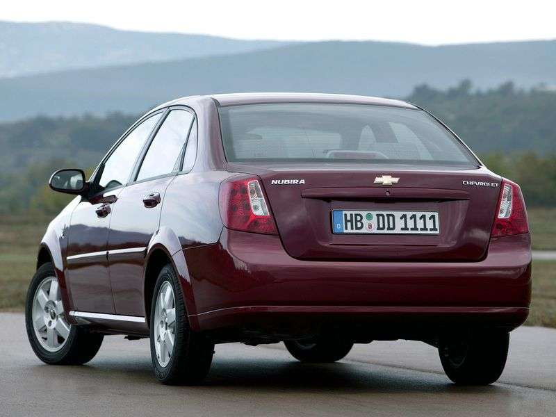 Chevrolet Nubira 1st generation 1.6 MT sedan (2005–2006)